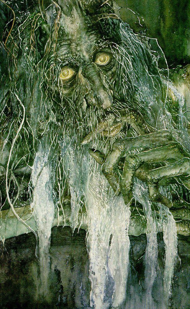 Alan Lee, Treebeard, acquarello